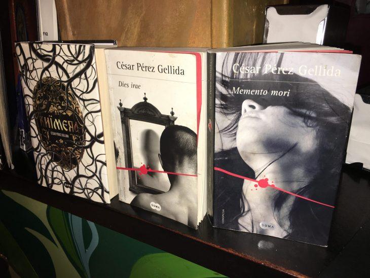 Libros de César Pérez Gellida