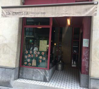 La Camelia Vegan Bar de Bilbao