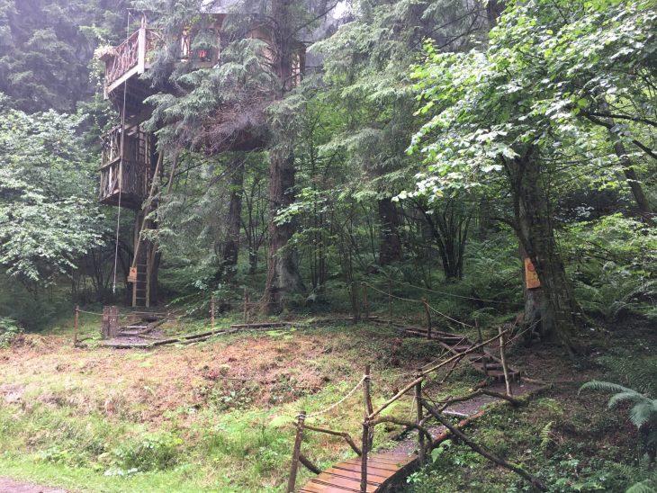Cabañas en los árboles o Zuhaitz Etxeak