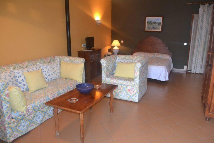 Habitación del Hotel Villa de Priego