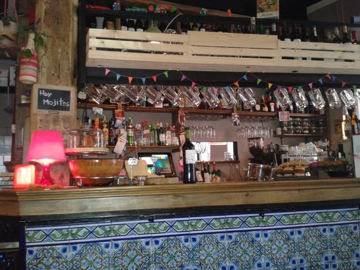 Barra del Restaurante Dando la Brasa