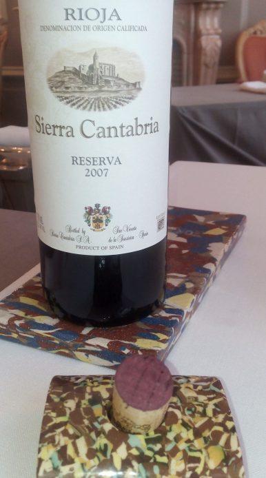 Vino Sierra Cantabria reserva 2007