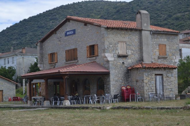 Antigua estación de Brizuela