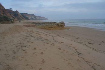Zona este de Praia Barranco das Belharucas