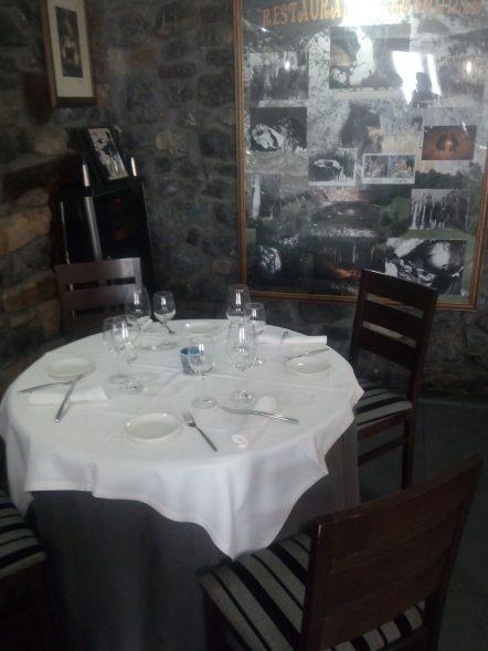 Comedor del Restaurante Ronquillo