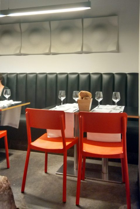 Comedor del Restaurante Ágape