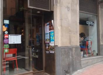 Fachada del Restaurante Ágape