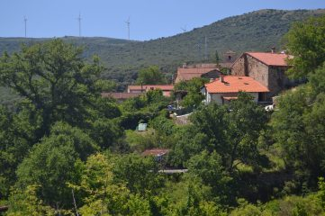 Vista desde el barrio Las Viñas de Puentedey
