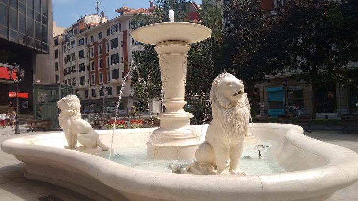 Fuente de la Plaza Jado de Bilbao