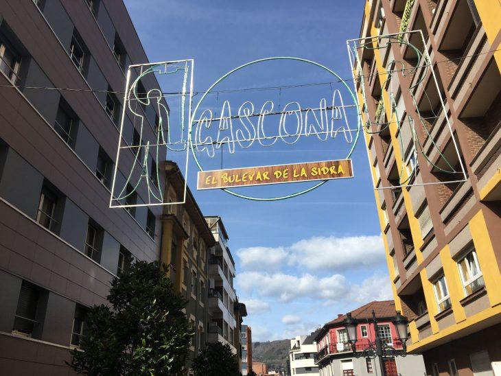 Calle Gascona de Oviedo