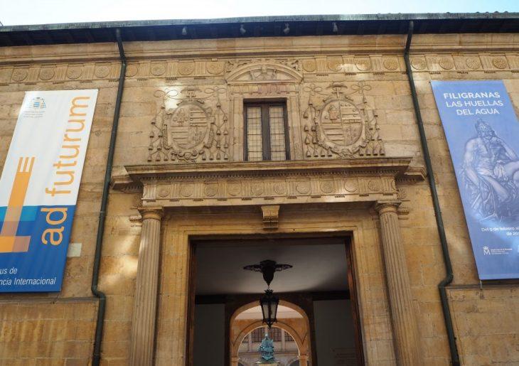 Edificio histórico de la Universidad de Oviedo