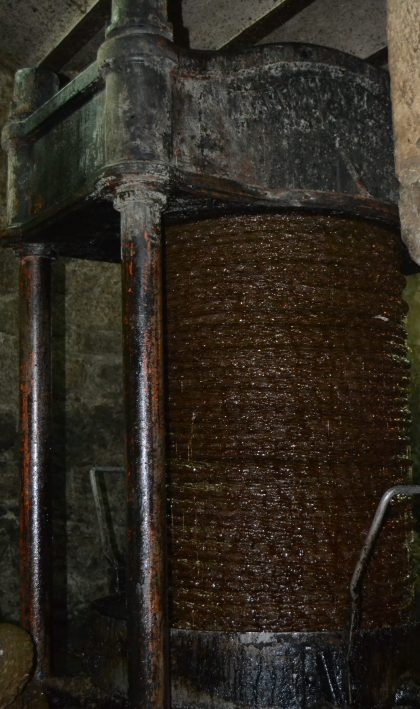 Prensa vertical de capachos