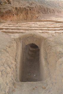 Interior del horno romano