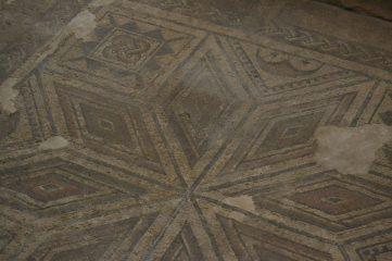 Mosaicos de los suelos de la domus romana
