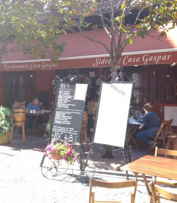 Sidrería Restaurante casa Gaspar