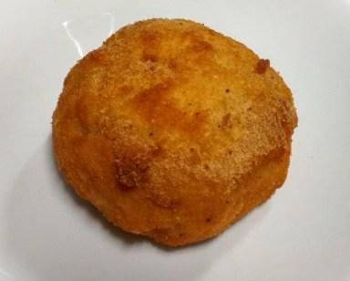 Croqueta de hongos del Bar Titi
