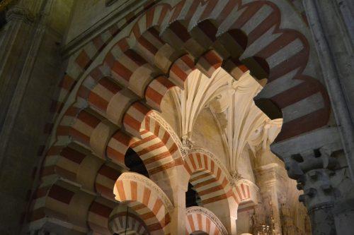 Arcos bicolores de la Mezquita