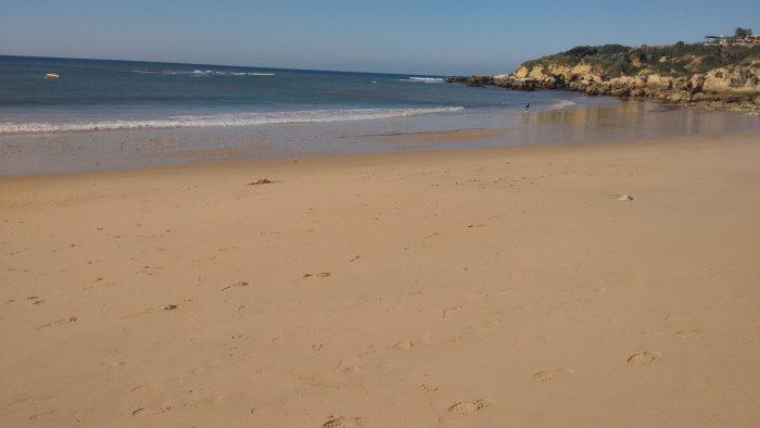 Praia Oura oeste