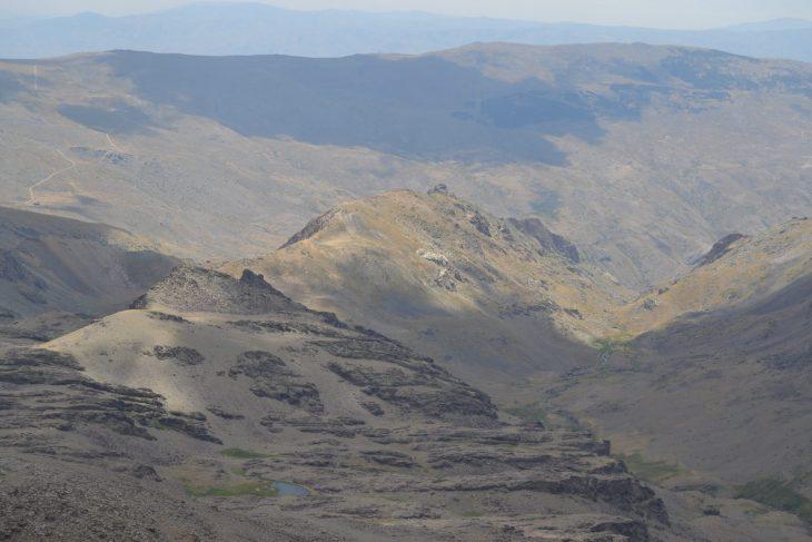 Vistas desde el Pico Veleta