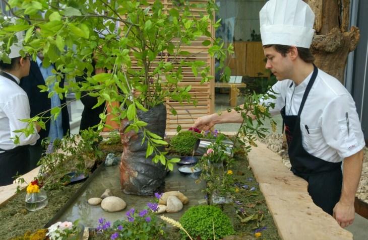 Invernadero del Restaurante Azurmendi de Eneko Atxa