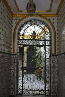 Patio de una casa de Cádiz