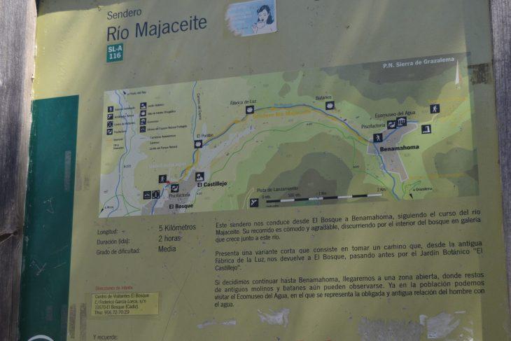 Ruta del Río Majaceite desde El Bosque a Benamahoma