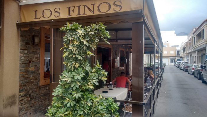 Bodega Los Finos en Adra