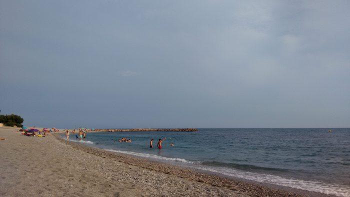 Playa de San Nicolás en Adra