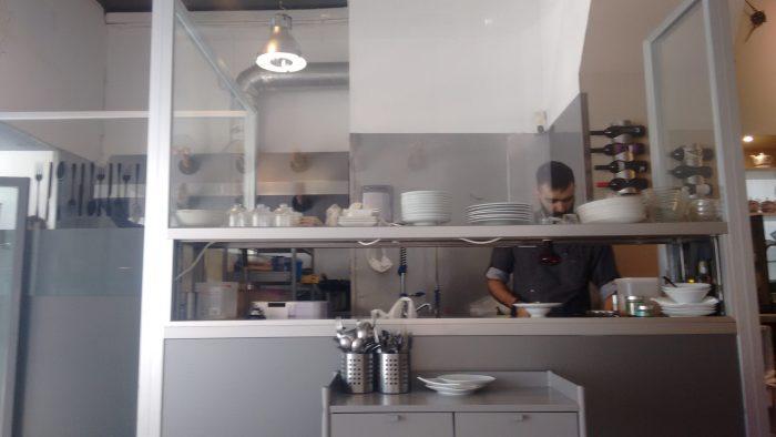 Cocina a la vista del Código de Barra