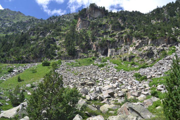 Montañas de roca