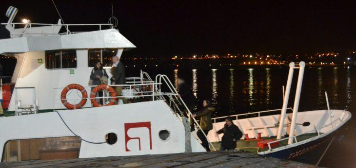 El barco Txinbito