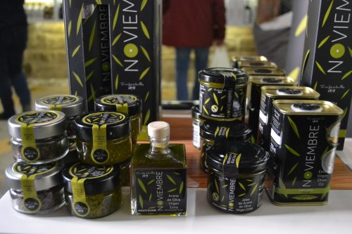 Perlas de aceite, Semillas de oliva y Jalea de aceite Noviembre