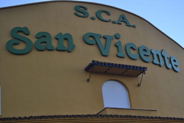 Almazara de la Sociedad Cooperativa Andalucia San Vicente de Mogón