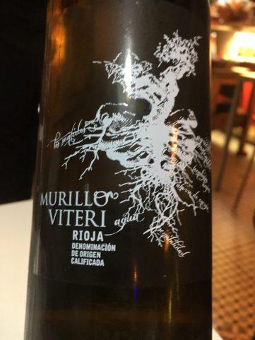 Vino blanco Murillo Viteri