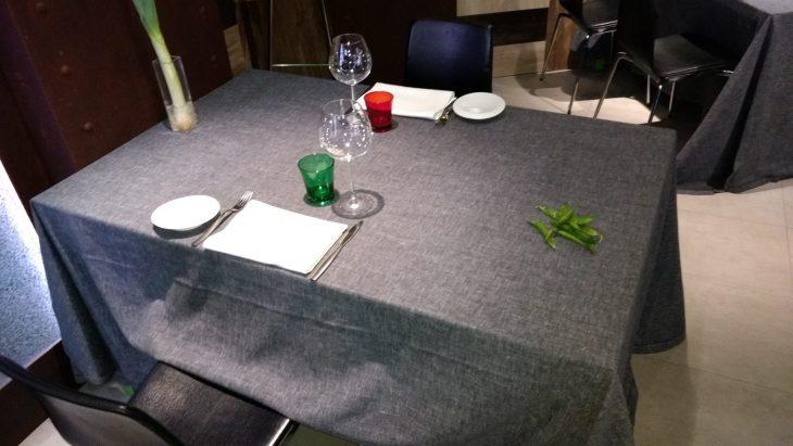 Comedor del Restaurante Porrue