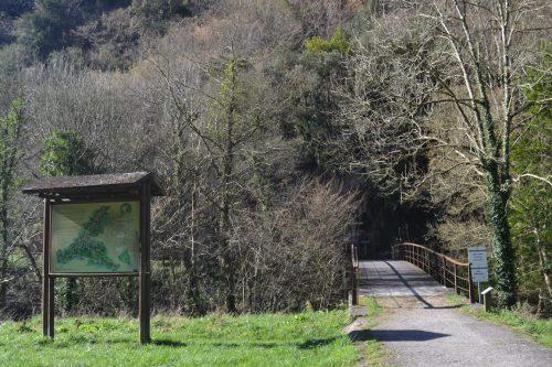 Puente sobre el río Trubia