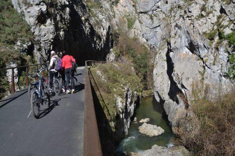 Puente del Desfiladero de Valdecerezales