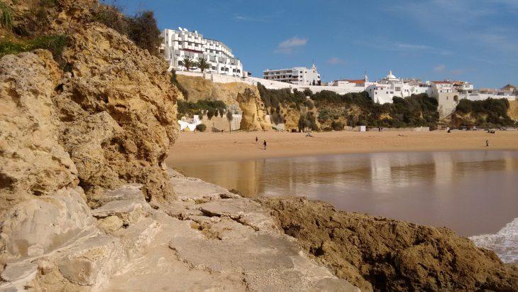 Praia do Peneco desde las rocas
