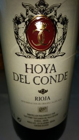 Vino Tinto Hoya del Conde