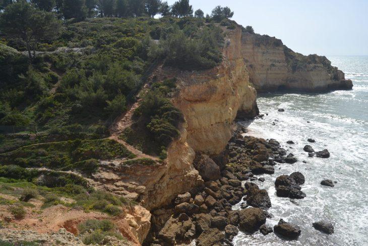 Camino por la costa algarvina