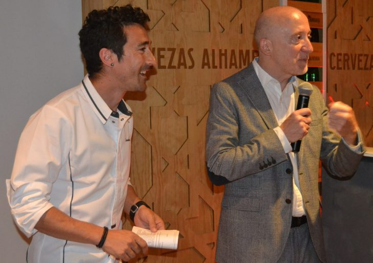 Eneko Atxa y Julio Cerezo