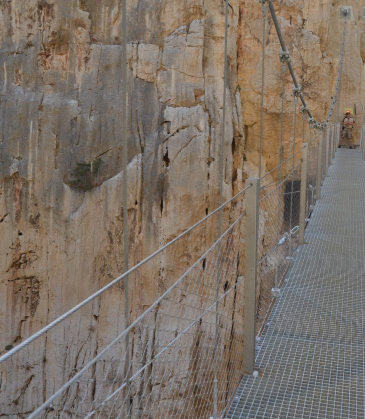 Puente colgante del Caminito del Rey