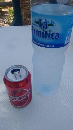 Agua y cerveza
