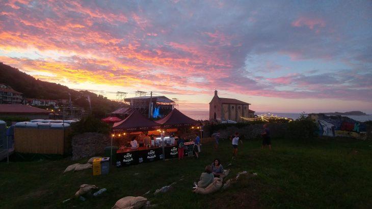 Ambiente en el Mundaka Festival