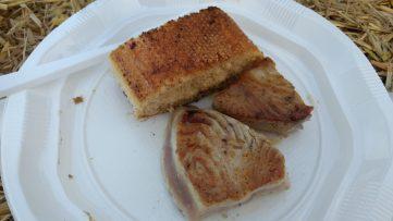Atún a la plancha en Mundaka Festival