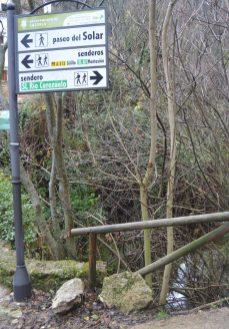 Inicio de la Senda río Cerezuelo