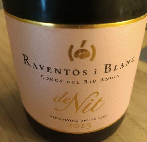 Cava De Nit Rose Raventos i Blanc 2015