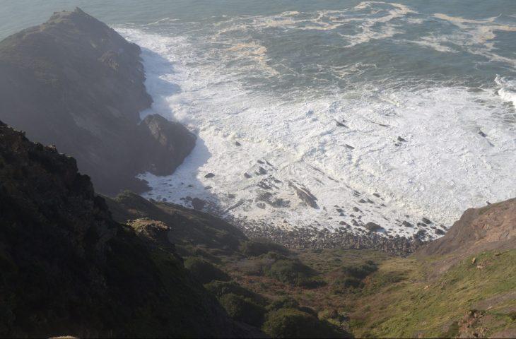 Cala en la Ruta del Faro de Gorliz