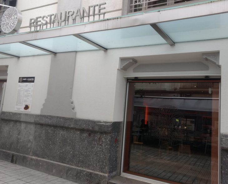 Restaurante Sustraiak de Bilbao