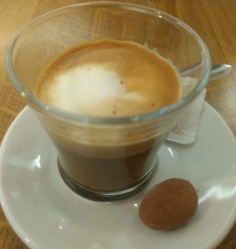 Café cortado y catania catalana